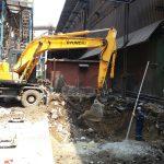 İSDEMİR DANİELLİ toz toplama baca temel inşaatı