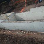 İSDEMİR teker yıkama havuzu inşaatı